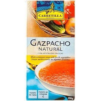 Carretilla Gazpacho natural con hortalizas frescas Envase 390 ml