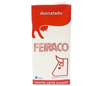 Feiraco Leche Desnatada Brik 1 litro