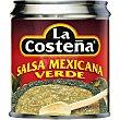 Salsa mexicana verde Lata 220 g La Costeña