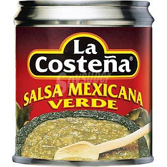 La Costeña Salsa mexicana verde Lata 220 g