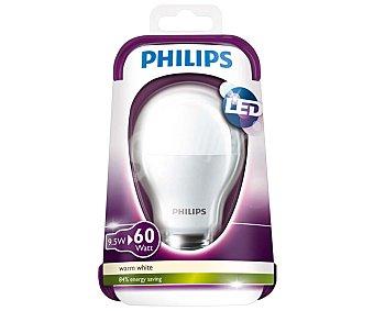 Philips Bombilla led esférica de 9.5 Watios, con casquillo E27 (grueso) y luz cálida philips 27 esférica 9.5W