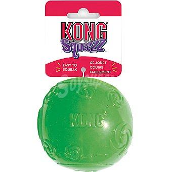 KONG Juguete para perro de caucho con forma de pelota colores surtidos talla M medida 12 cm 1 unidad
