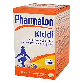 PHARMATON Complemento alimenticion multivitamínico con edulcorantes, enriquecido con minerales y lisina 30 unidades
