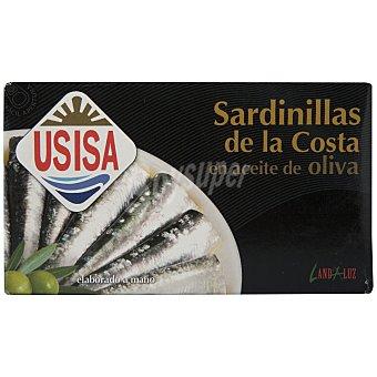 Usisa Sardinillas de la costa en aceite de oliva Lata 84 g peso neto escurrido
