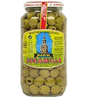 Escamilla Aceitunas verdes deshuesadas bajo en sal 450 g