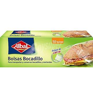 Albal BOLSA BOCADILLOS 50 UNI