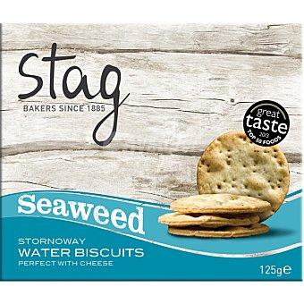 Stag Bakers crackers de agua con algas de Las Islas Hebrida estuche 127 g estuche 127 g
