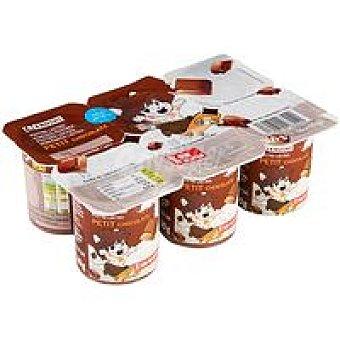 Eroski Petit chocolate pack 6x60g