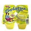 Gelatina limón Pack de 4x100 g Kalise