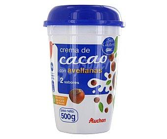 Auchan Crema de Cacao 2 Sabores 500g