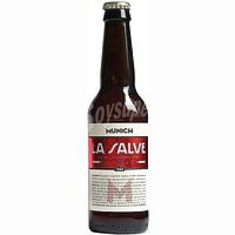 LA SALVE Munich Cerveza tostada Botellín 33 cl