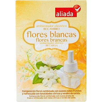 ALIADA Ambientador eléctrico flores blancas recambio 25 ml
