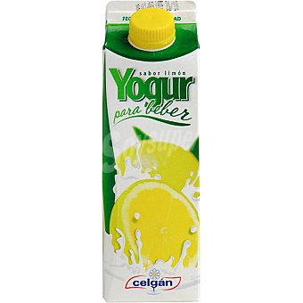 Celgán yogur líquido sabor limón envase 500 ml