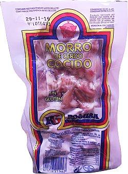 ROGUSA Cerdo morro cocido Paquete de 500 g