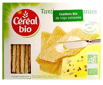 Cereal Bio Crackers ecológicos de trigo sarraceno cereal BIO 145 g