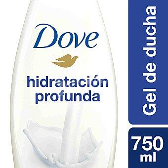 DOVE Gel de baño nutritivo hidratación profunda Frasco de 750 ml