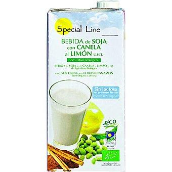 Special Line Bebida de soja ecológica con canela y limón Envase 1 l