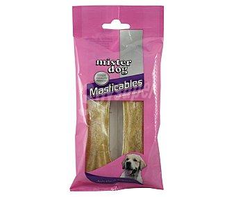 MISTER DOG Hueso de vacuno prensado para perros Pack de 2 unidades, 80 gramos