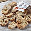 Rebanadas de pan con pasas 125 g Dillepasa