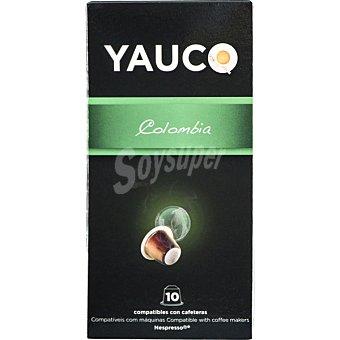 Yauco Café Colombia ápsulas compatible con máquinas Nespresso estuche 50 g 10 c