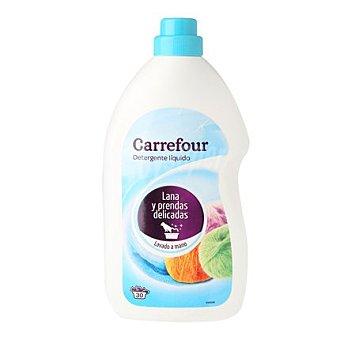 Carrefour Detergente líquido prendas delicadas lavado a mano 30 lavados