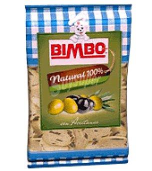 Bimbo Canapés tostados con aceitunas 100 g