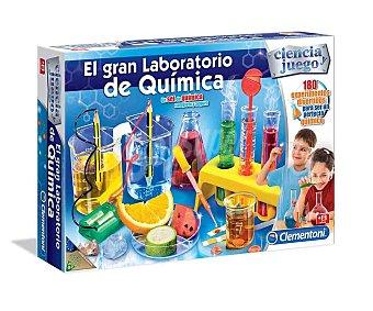 Clementoni El Gran Laboratorio de Química, juego científico creativo de experimentos, 1 unidad