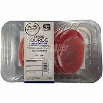 NATUR Duroc Filete lomo de cerdo Eroski Bandeja 300 g