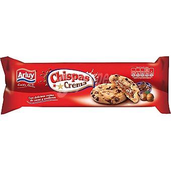 ARLUY Chispas Galletas rellenas de crema de cacao y avellanas Estuche 160 g