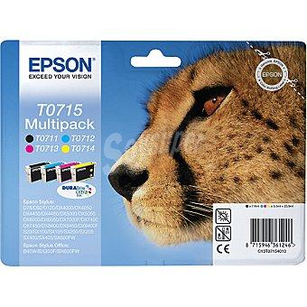 EPSON Stylus T0715 Cartucho de tinta multipack cuatricolor