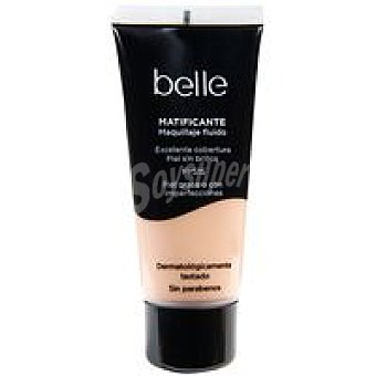 Belle Maquillaje Fluido Matificante 02 Make Up 1 unidad
