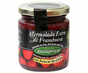 BIOAPRICA Mermelada de Frambuesa con Azúcar de Caña Ecológico 275 Gramos