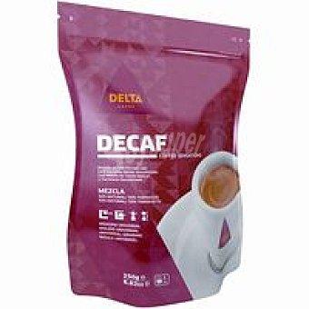Delta Cafés Café molido descafeinado Paquete 250 g