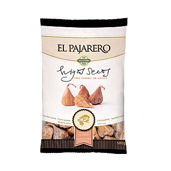 El pajarero Higos secos enharinados Paquete 500 g