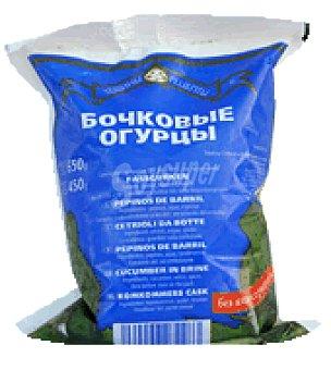 Pepinos de barril paquete 650 g