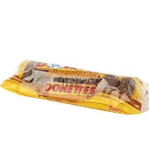 Donettes Bollito recubierto de chocolate y almendras 7 ud