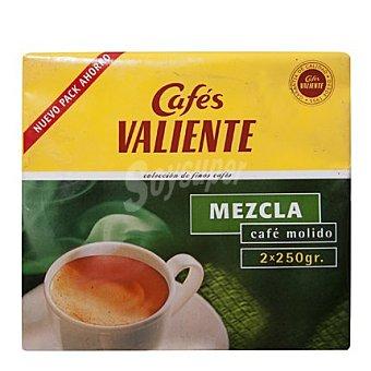 CAFÉS VALIENTE Café molido mezcla 2 x 250 g