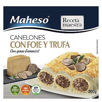 Maheso Canelones con foie y trufa y queso emmental 300 g