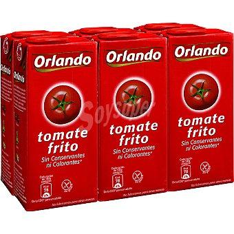 ORLANDO Tomate frito pack 6 envase 350 g