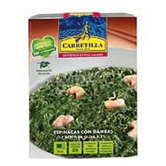 Carretilla Espinacas a la crema Tarrina 240 g