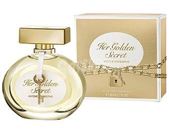 ANTONIO BANDERAS Her Golden Secret eau de toilette natural femenina  spray 50 ml