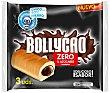 Bollycao relleno de chocolate 0% azúcares añadidos Zero 3 unidades ( 180 g ) Bollycao