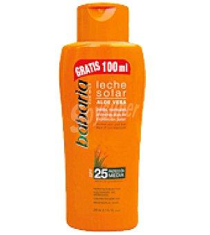 Babaria Leche Solar de Aloe Vera FP 25 200 ml