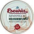 Sardinillas en aceite de oliva 35-40 Lata 180 g Escuris