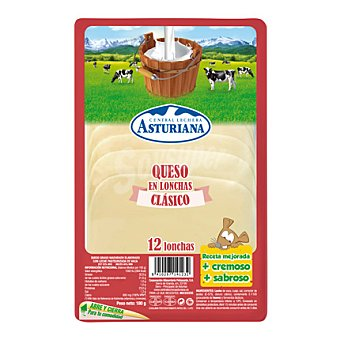 Central Lechera Asturiana Queso en lonchas 180 g