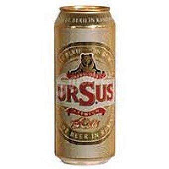 Ursus Cerveza rubia Lata 50 cl