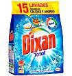 Detergente Bolsa 15 cacitos Dixan