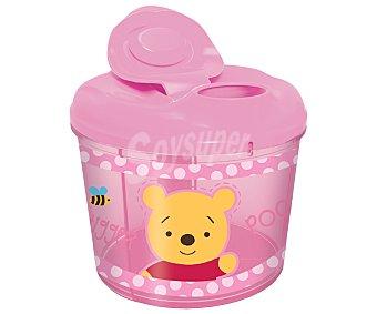 Disney Dispensador de leche en polvo, color rosa, Winnie the pooh