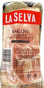 La Selva Bacon ahumado lonchas Paquete 210 g
