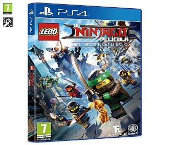 WARNER BROS La LEGO Ninjago Película Ps4 Videojuego La lego Ninjago Película para playstation 4. Género: Acción y aventura. pegi: +3